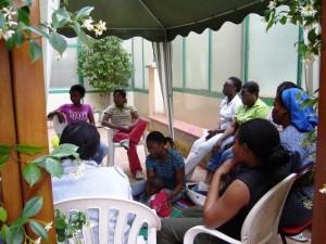 visita delle suore nigeriane